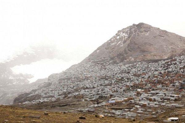 Перу. Ла-Ринконада. Самый высоко расположенный город в мире страны, Перу, город, не мое, длиннопост