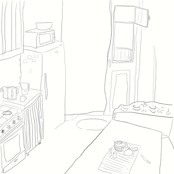 Гость Анимация, Голубь, Балкон, Утро, Незваные гости, Гифка