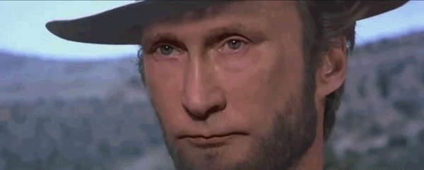 Il buono, il brutto, il cattivo Владимир Путин, Дональд Трамп, Барак Обама, Гифка, Политика