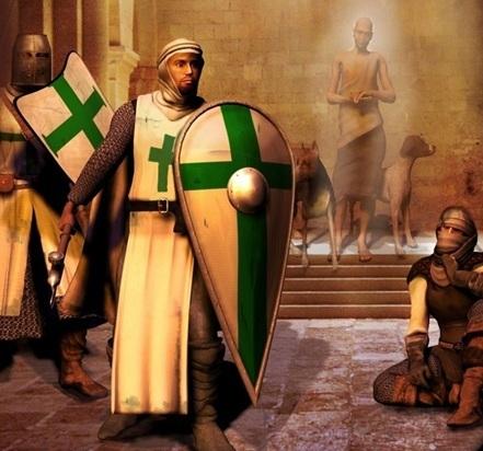 Орден обреченных крестоносцы, орден, госпитальеры, Рыцарь, проказа, прокаженный, darkest dungeon, длиннопост