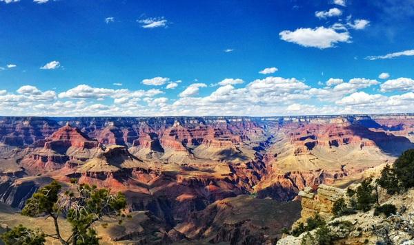 Grand Canyon, AZ Аризона, Штат Аризона, Гранд-Каньон, Путешествия, Длиннопост