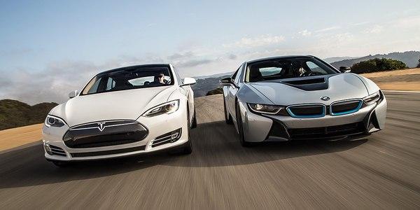 Компания Tesla обошла BMW по рыночной стоимости. экономика, транспорт, бизнес, bmw, tesla, деньги