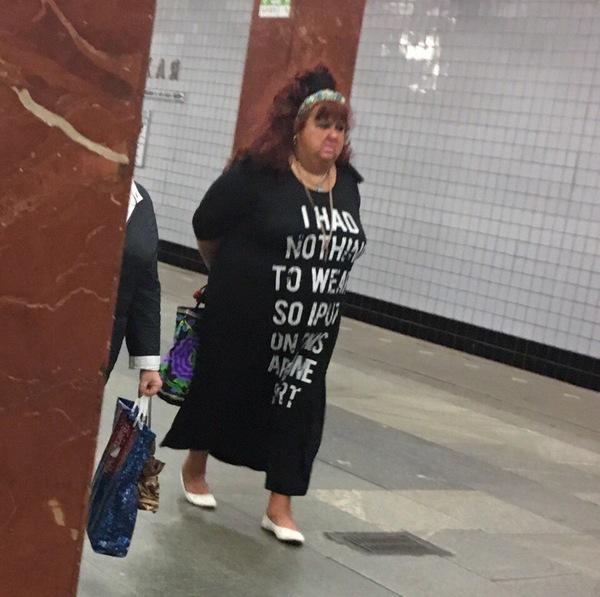Когда нечего надеть платье, женщина, метро, фэшн из май профешн, мат