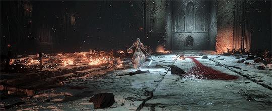 Sister Friede Dark Souls, Dark Souls 3, Sister friede, Босс, Гифка