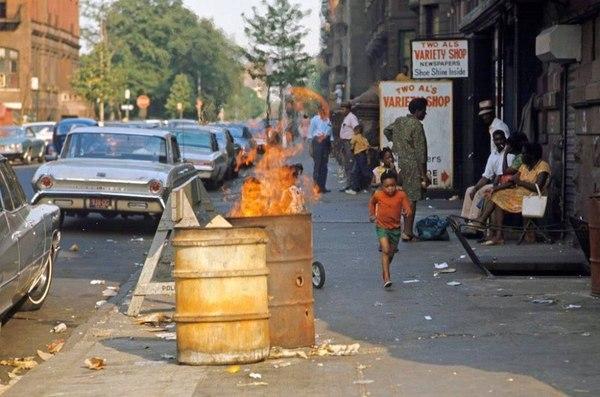 Гарлем, Нью-Йорк, 1970ые. Гарлем, США, Фотография, 1970, Длиннопост
