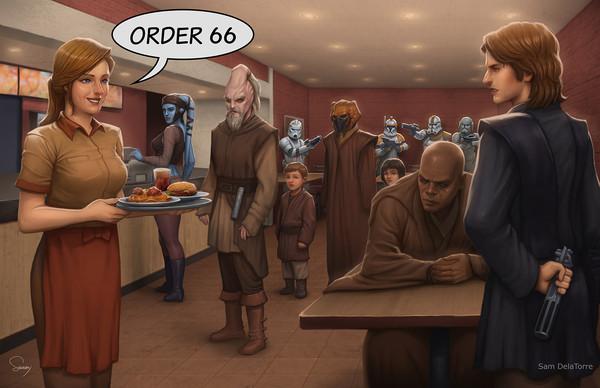 Выполнить заказ 66!