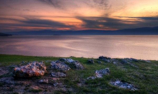 Байкальские вечера Ольхон, Байкал, Россия, вечер, туризм, Природа, надо съездить, фотография, длиннопост