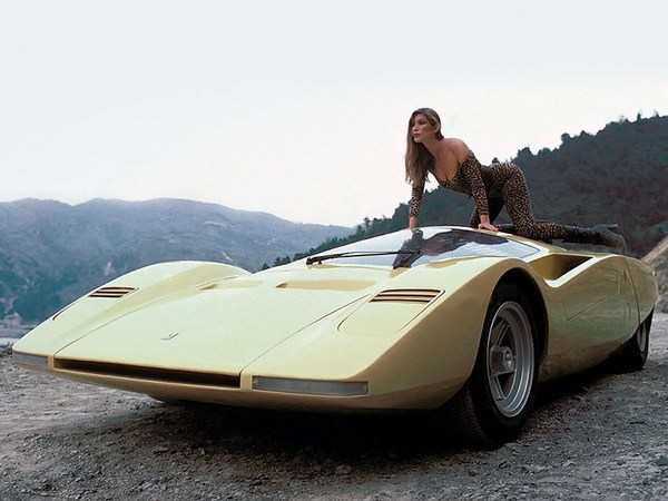 Угол атаки: Ferrari 512 S Berlinetta Speciale Pininfarina, 1969 год авто, ретроавтомобиль, прошлое, 20 век, концепт, Ferrari, длиннопост