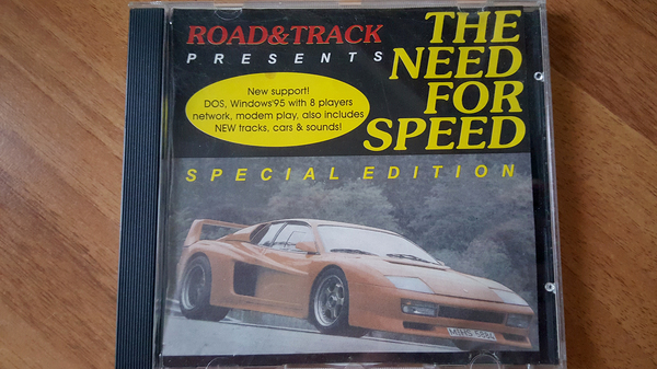 Диск с первой частью NFS старая игра, the need for speed, Need For Speed, Олдовое