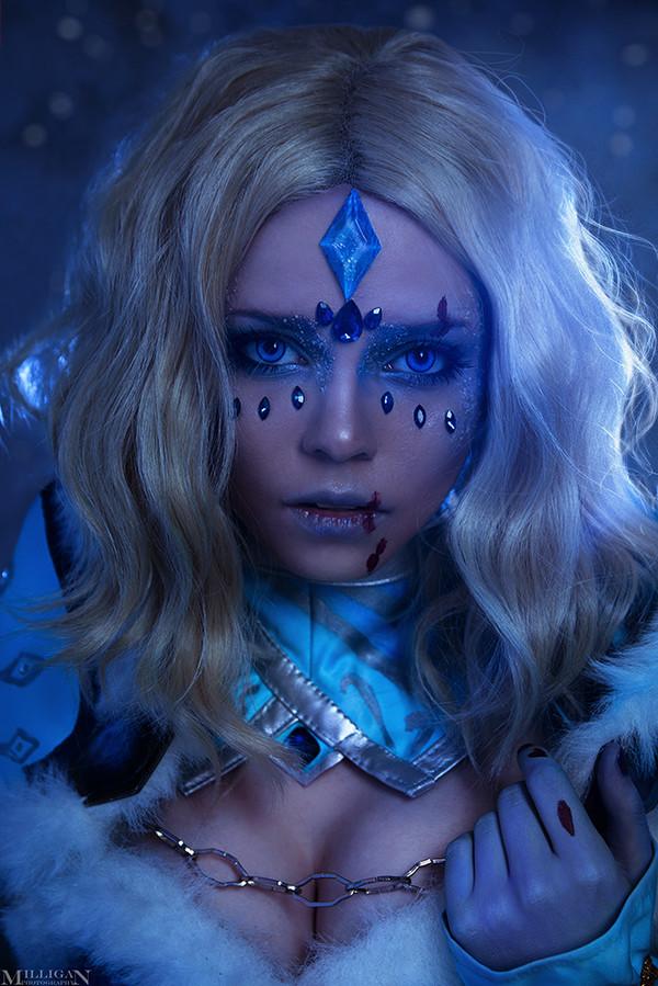 DotA 2 - Crystal Maiden Arcana Dota 2, Crystal maiden, Косплей, 2017, MilliganVick, Длиннопост