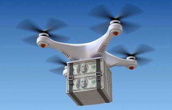 Сбербанк осенью пообещал перевозить беспилотниками по 50 кг наличных Сбербанк, Дрон, Деньги, Длиннопост