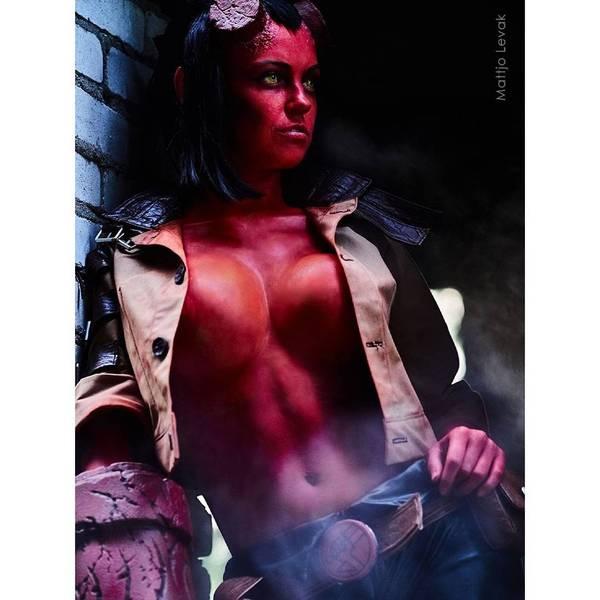 Hellgirl Косплей, Правило 63, Хеллбой, Hellgirl
