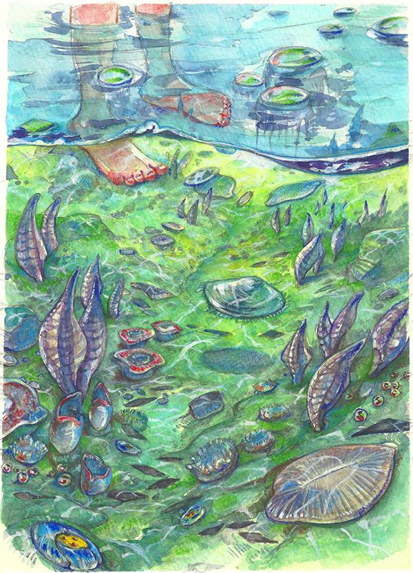 Палеофантазии палеонтология, палеоарт, Диметродон, Горгонопсиды, лиценопс, Эдиакарский период, длиннопост