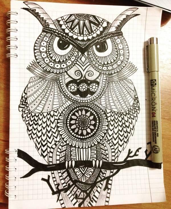 Моя сова=)