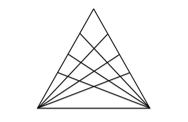 Головоломка «Треугольник». Только 2% людей смогут решить ее в уме Головоломка, Треугольник, Логическая задача