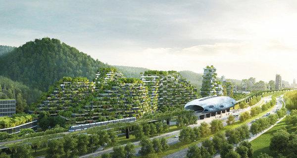 В Китае построят вертикальный «город-лес» технологии, Строительство, Китай