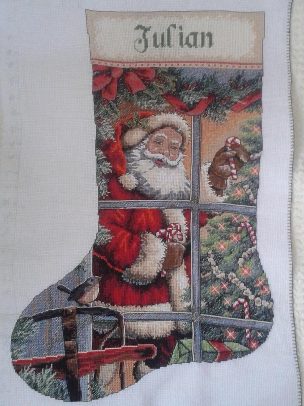 Немного Новогоднего настроения  =))) Санта, рождественский носок, длиннопост