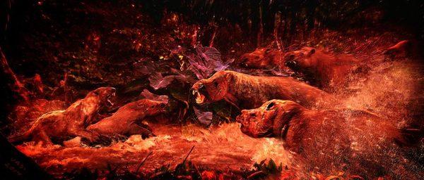 Звери ушедших времен Интересное, познавательно, палеонтология, арт, иллюстрации, наука, Велизар Симеоновски, прошлое, длиннопост