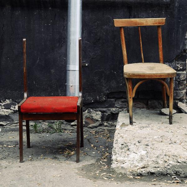 Старые стулья стул, фотография, длиннопост