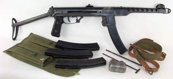 Лучший пистолет-пулемёт второй мировой войны ППС-43, вторая мировая война, война, оружие, пп, длиннопост