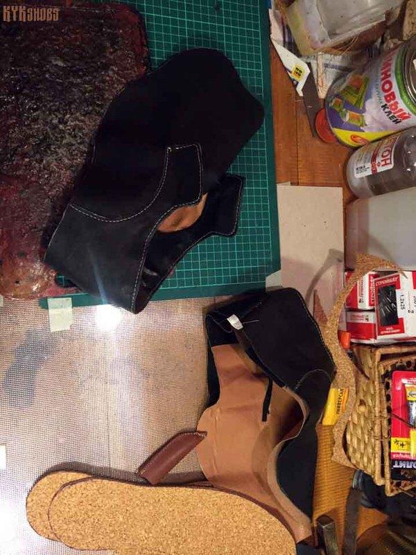 Как делаю обувь моё, пятничный тег моё, обувь, ручная работа, кожа, рукоделие, длиннопост, мастер-класс