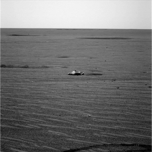 Мусор, оставленный Opportunity при посадке Opportunity, марс, космос