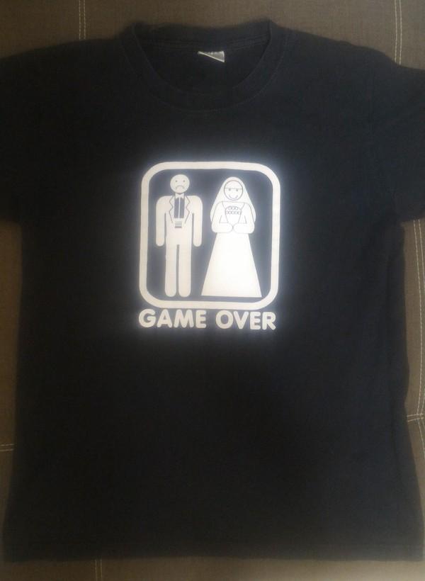 Новая жизнь - новая футболка! Футболка, Принт, Семья, Игры, Пополнение, Длиннопост