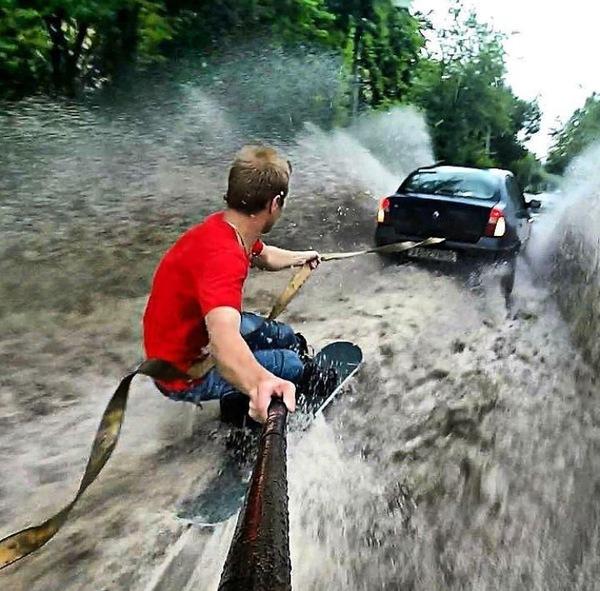 Ох уж это лето, Зеленоград немножко стал Венецией.. ливень, зеленоград, Дождь, потоп, длиннопост