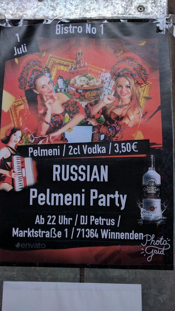 Когда пельмешки решают Пельмени, Водка, Германия