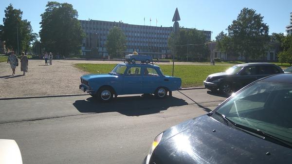 Москвич везет москвич авто, москвич, петрозаводск