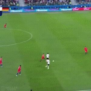 Немцы и чилийцы рубятся за мяч Футбол, Кубок конфедераций, Финал, Гифка