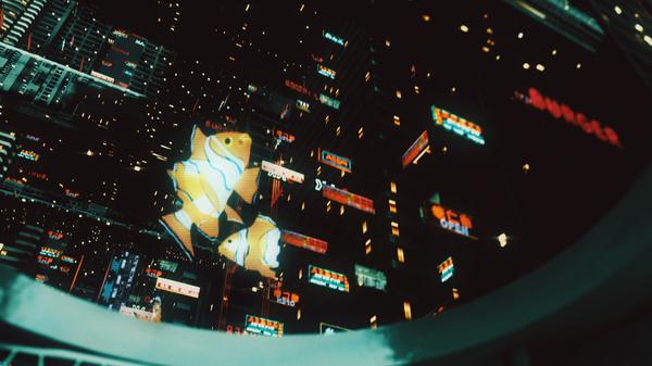 Video JAPAN 2162 short scene киберпанк, Sci-Fi, будущее, короткометражка, длиннопост, моё, 3d, арт, видео