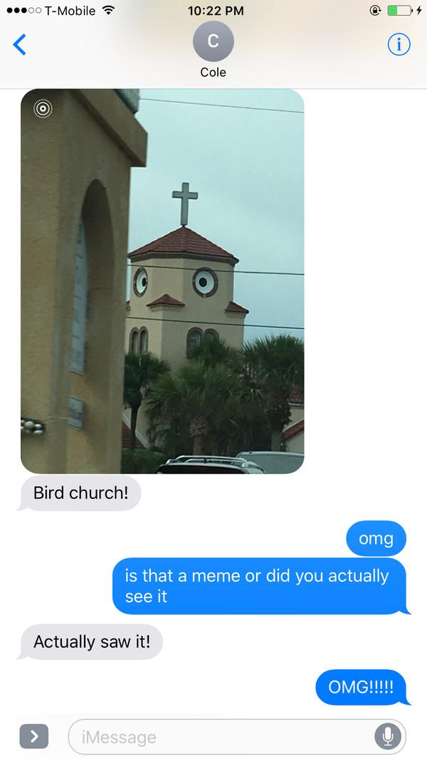 Церковь-птичка церковь, переписка, совпадение, похожи