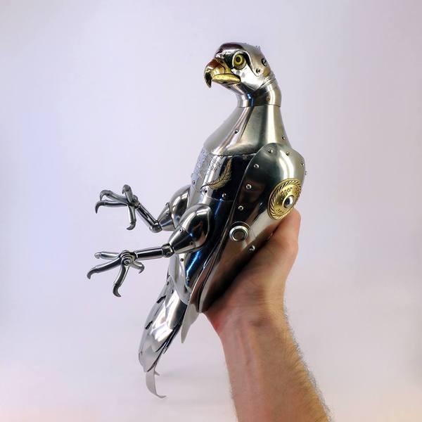Удивительные стимпанк-скульптуры Игоря Верни стимпанк, Насекомые, скульптура, длиннопост