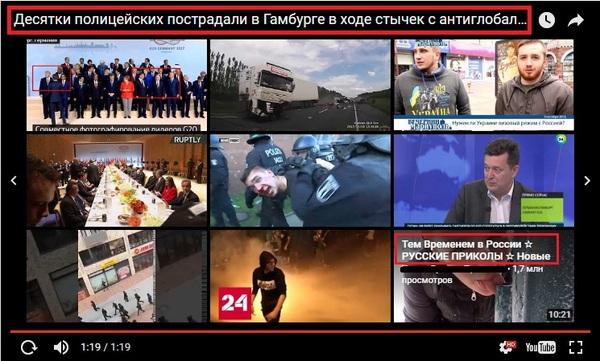 Тем временем в России гамбург, полиция, прикол, митинг, германия против россии