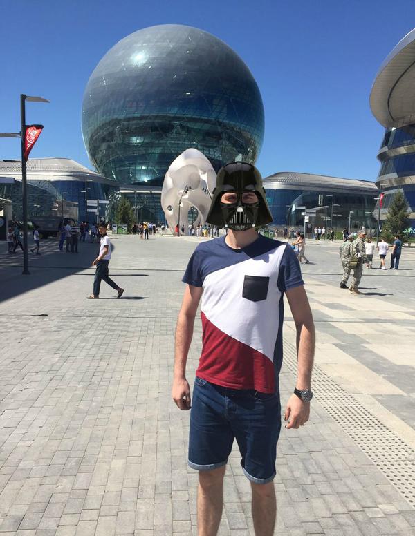 Специально съездил на EXPO в Астану, чтоб сделать это фото.