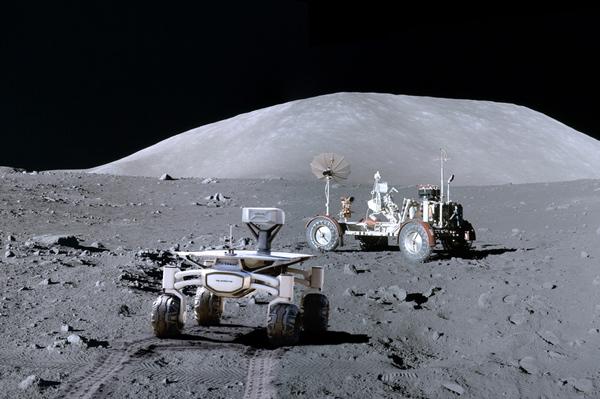 """Как заработать на Луне и """"Аполлоне""""? Луна, Лунный заговор, Аполлон-17, Луноход, Длиннопост, Интервью, Видео"""