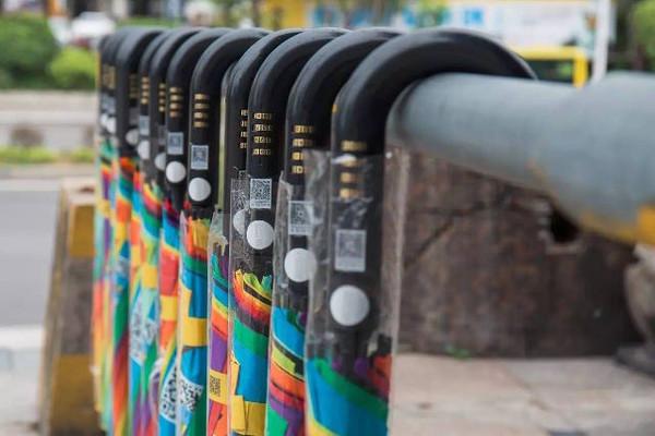Не вернули почти 300 тысяч зонтов Китай, Стартап, Интересное