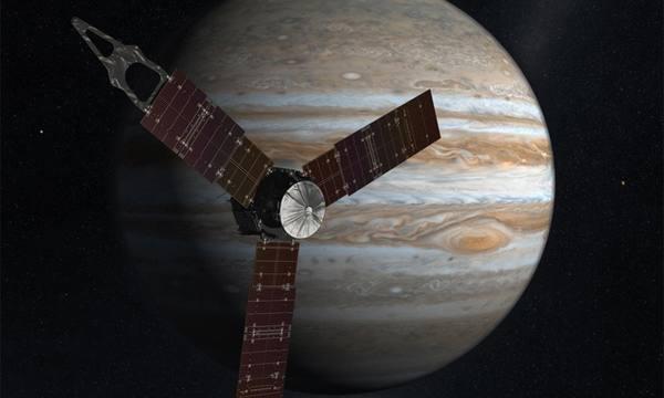 Зонд Juno начал передачу данных о Большом красном пятне Юпитера Юнона, Юпитер, NASA, космос, длиннопост