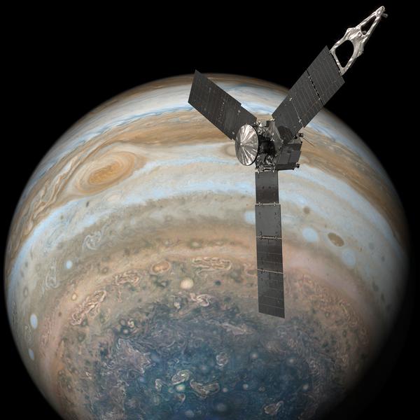 Фотографии Юпитера полученные с Junocam junocam, юпитер
