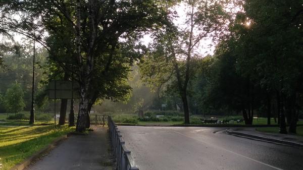 После ливня, по дороге домой Санкт-Петербург, Природа, Фотография, Солнце