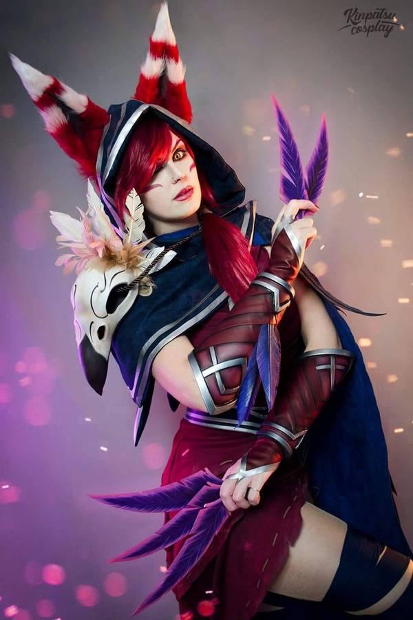 Кослпей на Xayah | League of Legends Косплей, League of Legends, Kinpatsu, девушки, длиннопост, LOL