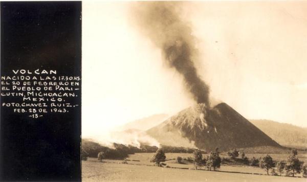 Дионисио Пулидо - владелец действующего вулкана, мексика, 1946 год Мексика, вулкан, хозяин, длиннопост