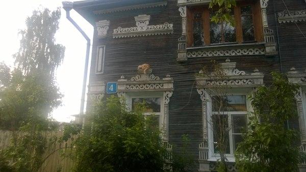 Вологодский котик Кот, Вологда, Милота, Деревянное зодчество