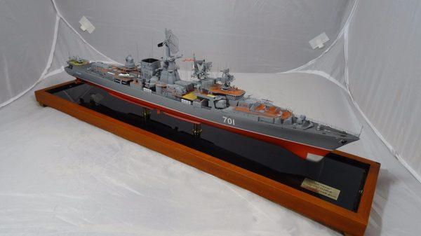 Великолепная семерка корабль, масштабная модель, Судомоделирование, советский флот, БПК Азов, моделизм, самоделки, длиннопост