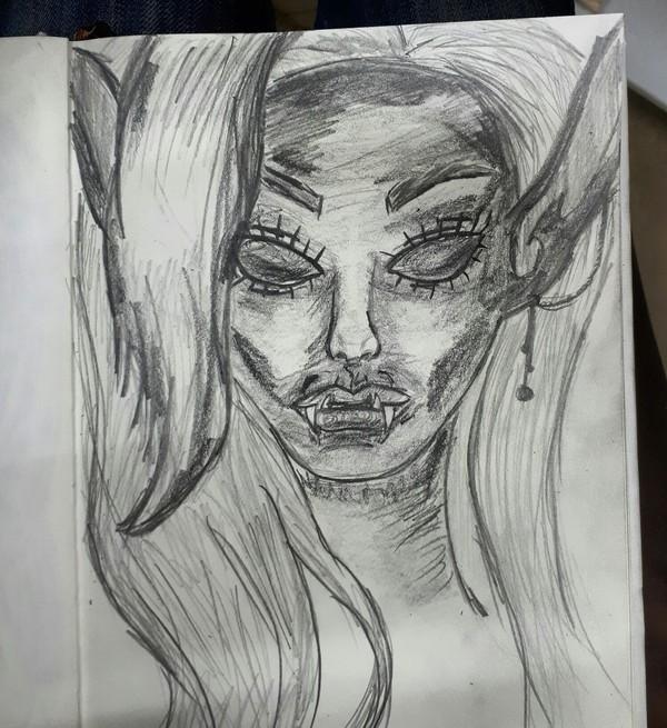 Дроу. Моё творчество.