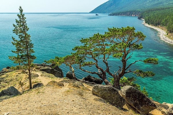 Бухта Песчаная, Байкал Россия, туризм, фотография, байкал, Иркутская область, Природа, пейзаж, длиннопост
