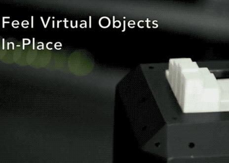 Стержневой дисплей позволит прикоснуться к виртуальной реальности наука, новости, IT, Виртуальная реальность, гифка, видео