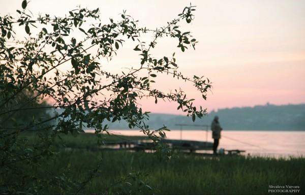 Вдали от больших городов лодка, вечер, canon, фотография, закат