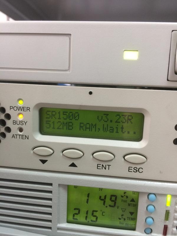 Внешний RAID контроллер Infortrend IFT 3102 Linux, RAID, Сисадмин, Помощь, HelpDesk, Айтишники, Длиннопост